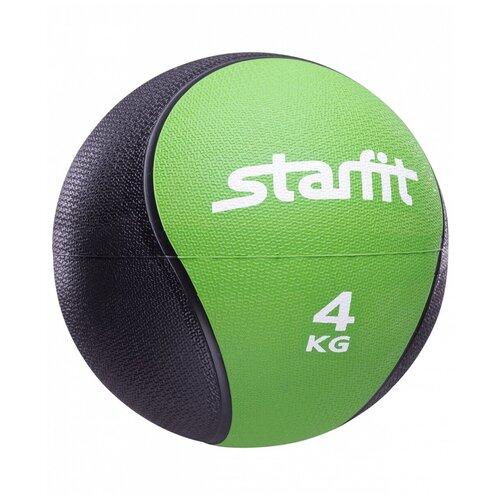 Медбол Starfit PRO GB-702, 4 кг зеленый