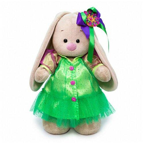 Budi Basa Мягкая игрушка Зайка Ми Лаймовый изумруд, 32 см