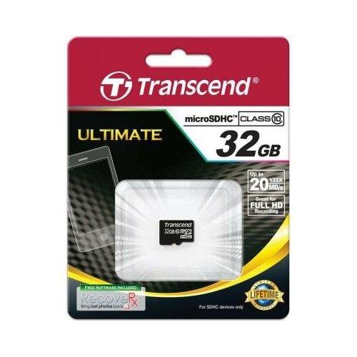 Фото - Transcend Карта памяти MicroSDHC 32GB Transcend Class10 (TS32GUSDC10, без адаптера) карта памяти transcend microsdhc 32gb 10class 400x ts32gusdcu1
