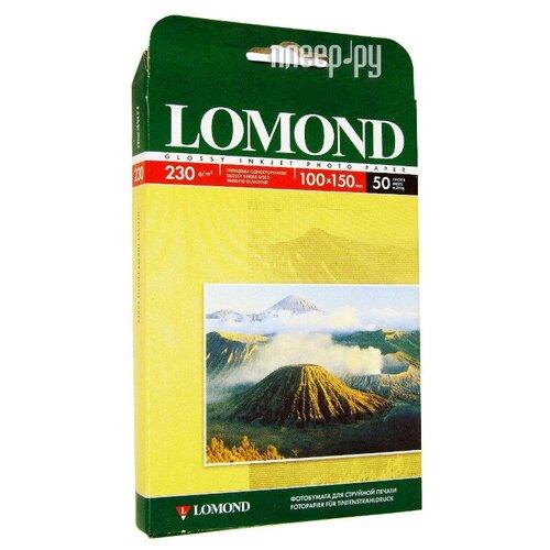 Фото - Фотобумага Lomond 100x150mm 230g/m2 глянцевая одностороняя 102035 фотобумага lomond a3 230g m2 глянцевая односторонняя 50 лист