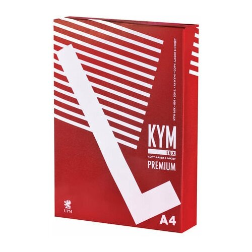 Фото - Бумага офисная KYM LUX PREMIUM, А4, 80 г/м2, 500 л., марка А, Финляндия, белизна 170% lux s040060