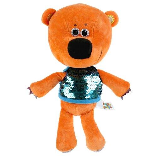 Игрушка мягкая Мульти-пульти Ми-ми-мишки, Кеша в футболке c пайетками, 20 см, без чипа (V62075-20SNS) игрушка мягкая мульти пульти ми ми мишки медвежонок кеша 25 см музыкальный