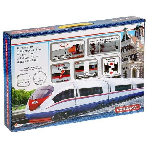 Фото - Железная дорога 400 см, с аксессуарами железные дороги играем вместе железная дорога 308 см