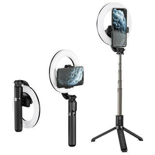 Настольная кольцевая лампа hoco. «Hoco. LV-03» для фото и видеосъемки