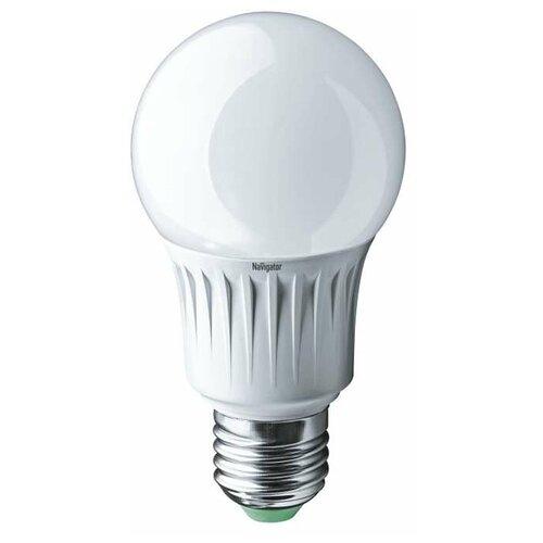 Лампа светодиодная 94 388 NLL-A60-10-230-4K-E27 10Вт грушевидная 4000К бел. E27 820лм 170-260В Navigator 94388 (упаковка 10 шт)