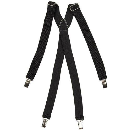 Фото - Подтяжки мужские X, ширина 25 мм, рифленые, цвет: чёрный (подарочная коробка) подтяжки stilmark рифленые mono