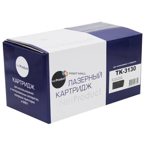 Картридж NetProduct для Kyocera Mita FS-4200DN, 4300DN (25000 стр.) TK-3130, с чипом