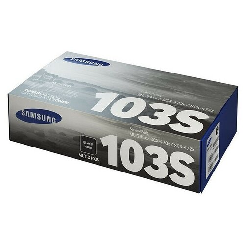 Тонер-картридж Samsung MLT-D103S (SU730A) чер. для ML-2950/2955