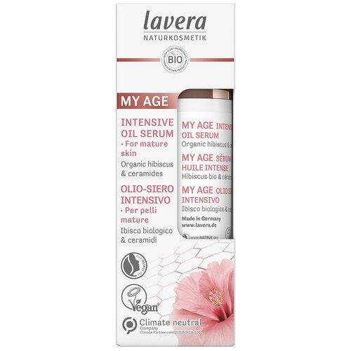 Купить Lavera My age Intensive Oil Serum Сыворотка интенсивная масляная разглаживающая, 30 мл