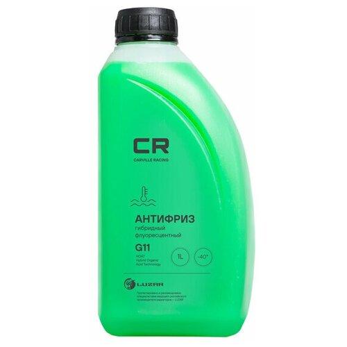 Фото - Антифриз готовый гибридный зеленый CR флуоресцентный -40°С G11 1л антифриз carville racing тосол 10 л