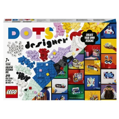 Фото - Конструктор LEGO DOTS 41938 Творческий набор для дизайнера lego lego dots большой набор тайлов