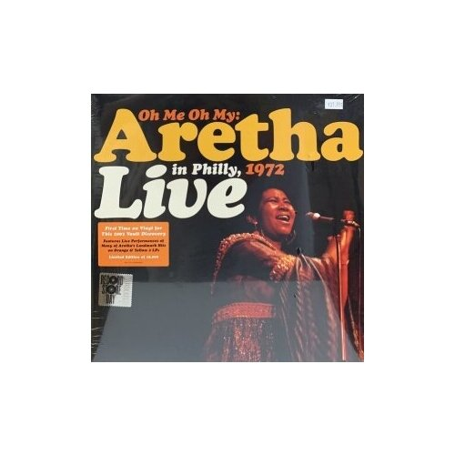 Виниловые пластинки, Atlantic, ARETHA FRANKLIN - Oh Me Oh My: Aretha Live In Philly, 1972 (2LP) philly