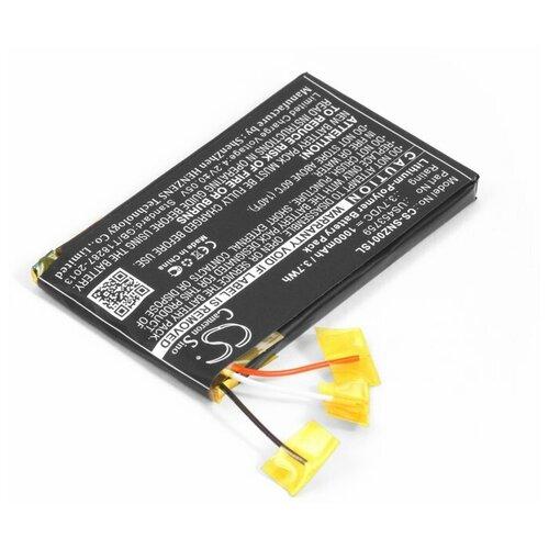 Аккумулятор для mp3 плеера Sony NWZ-ZX1 (US453759)