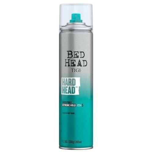 Лак TIGI Bed Head Hard Head для экстрасильной фиксации волос, 385 мл tigi лак для блеска и фиксации masterpiece bed head 340 мл