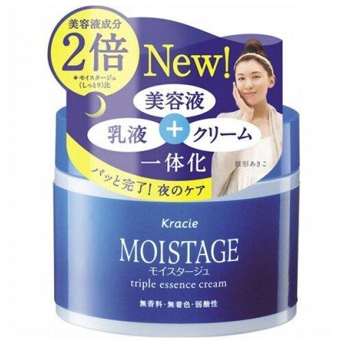 Купить KRACIE Moistage ночной увлажняющий крем-эссенция для сухой кожи, банка 100 гр. Эксклюзив