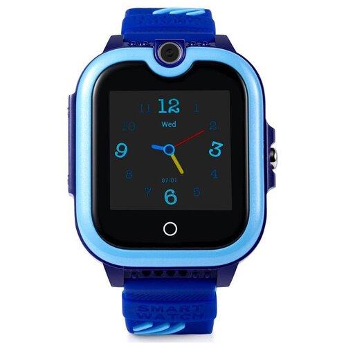 Детские умные часы Smart Baby Watch KT13 с видео-звонком 4G (Синий)