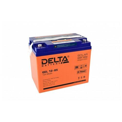 Аккумулятор Delta GEL 12-85 аккумулятор delta battery gel 12 55