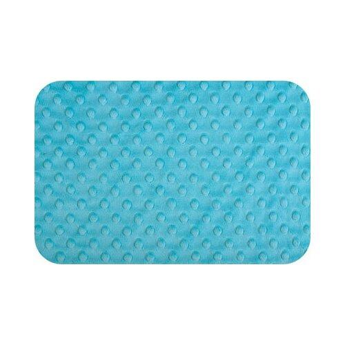 Плюш Peppy 48*48 см, 455 г/м2, 100% полиэстер, turquoise (CUDDLE DIMPLE) недорого