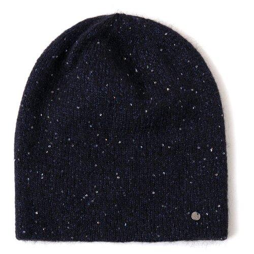 шапка женская finn flare цвет ярко синий a20 11148 111 размер 56 Шапка женская Finn Flare, цвет: темно-синий A20-13114_101, размер: 56