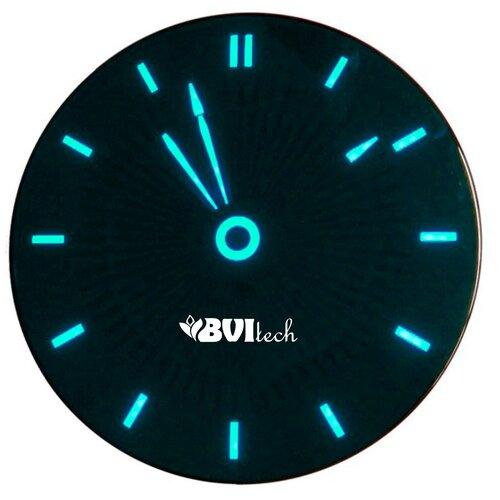 BV-111BKx BVItech часы сетевые (синий/черный)