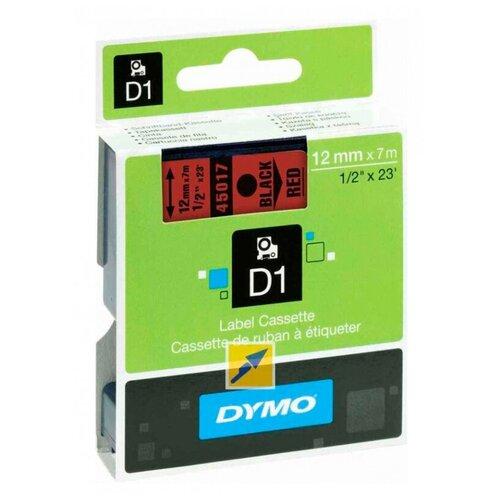 Картридж ленточный Dymo D1 S0720570 черныйкрасный для Dymo
