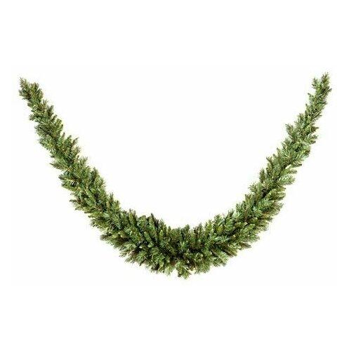 Гирлянда хвойная сваг тиффани, хвоя - PVC, 274х36 см, National Tree Company