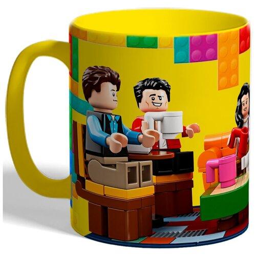 Кружка Лего человечки