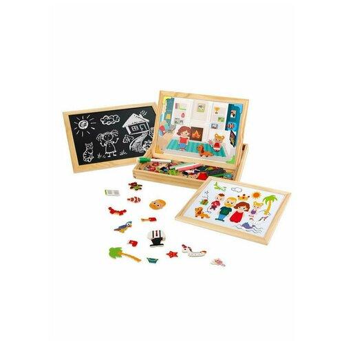 Игровой набор Mapacha Бизи-чемоданчик Дружная семья