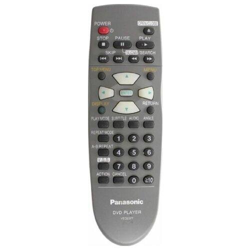 Фото - Пульт VEQ2377 DVD для видеотехники PANASONIC пульт ду panasonic eur 7722x20 universal dvd vhs system