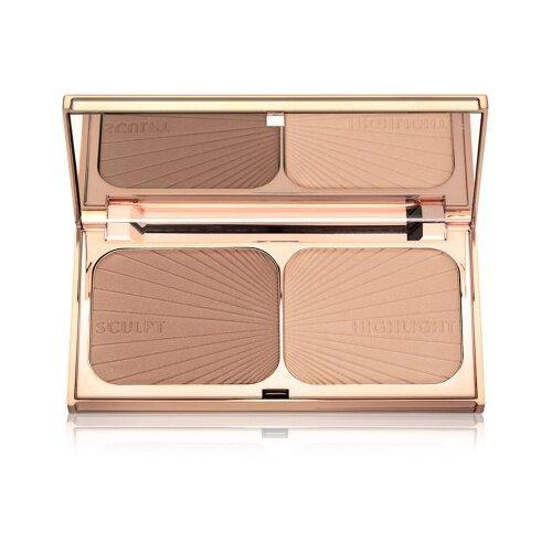 Купить Charlotte Tilbury Палетка для контуринга Filmstar Bronze & Glow 01 light to medium
