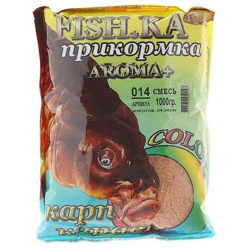 Прикормочная смесь Fish-ka Карп-Карась карп-карась 1000 г 1 шт.