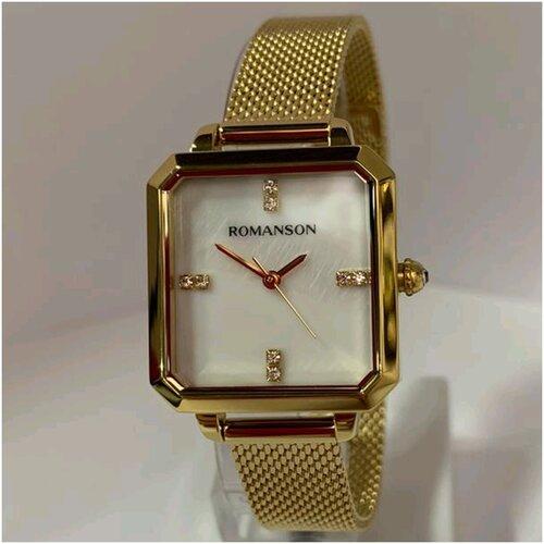 romanson rm 7a04l lr wh Часы Romanson RM 0B14L LG(WH)