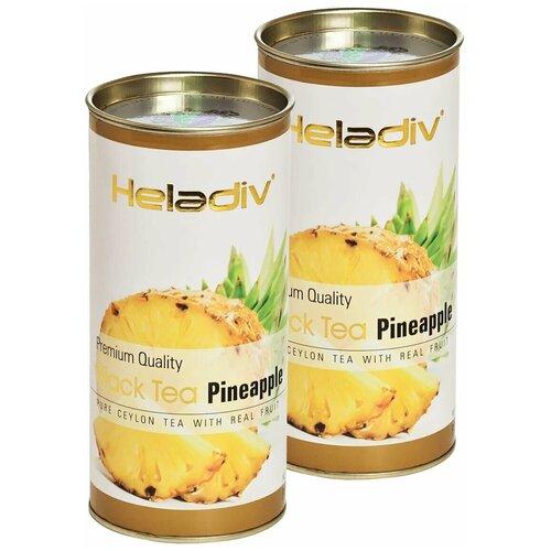 чай черный heladiv pekoe black tea soursop 100 г 2 уп Чай черный Heladiv Premium Quality Black Tea Pineapple, 100 г, 2 уп.
