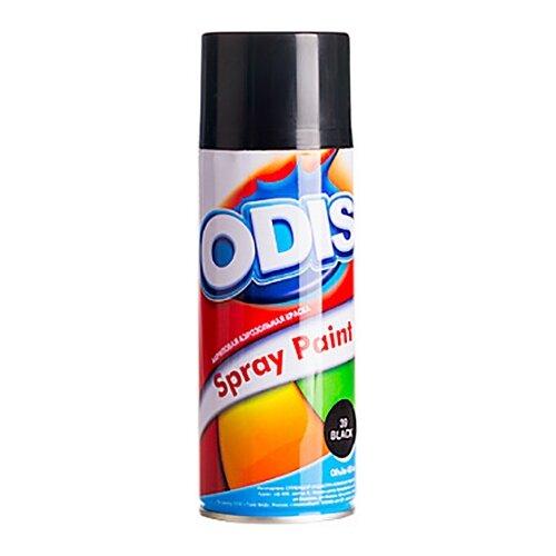 Краска ODIS Акриловая аэрозольная 39 черный 450 мл