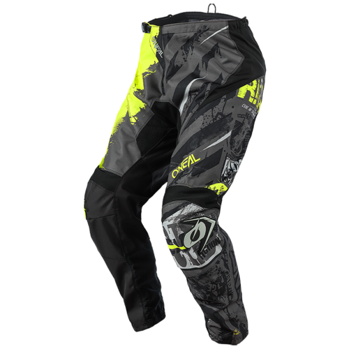 Текстильные мотобрюки O'Neal Element Youth Ride black/neon yellow 22 (Размер производителя)