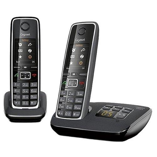 Фото - Радиотелефон Gigaset C530A DUO / C530AM DUO Black радиотелефон gigaset a270 black