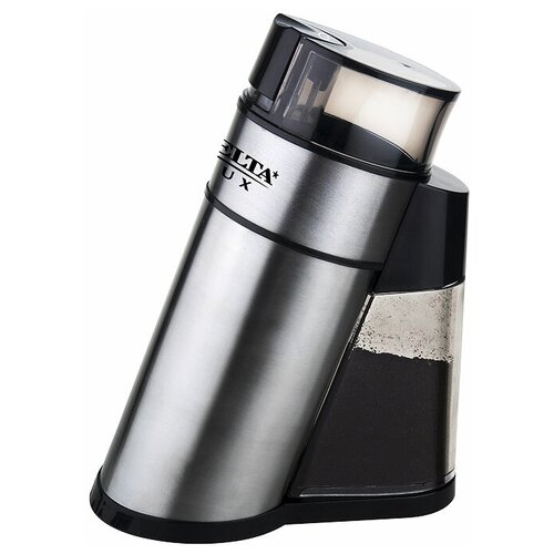 Кофемолка DELTA LUX DL-086К серебристый