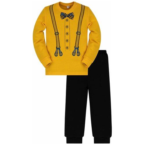 Фото - Комплект одежды Утенок размер 86, желтый/черный комплект одежды утенок размер 98 белый черный