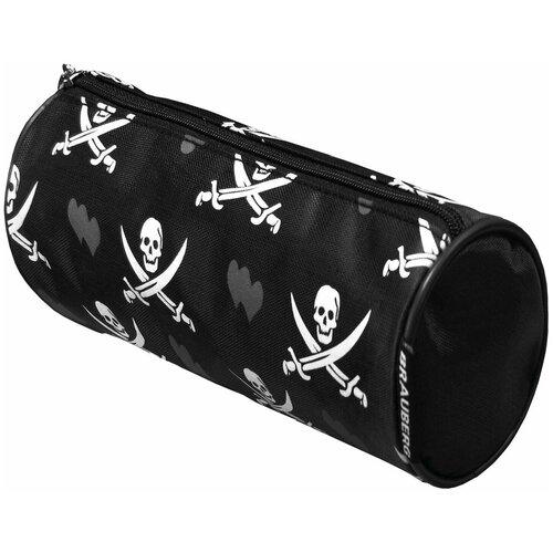 Фото - BRAUBERG Пенал-косметичка Пираты (223273) черный пенал косметичка brauberg тайм