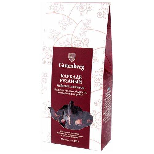Чайный напиток красный Gutenberg Каркаде резаный, 100 г чайный напиток красный tea kir royal 180 г