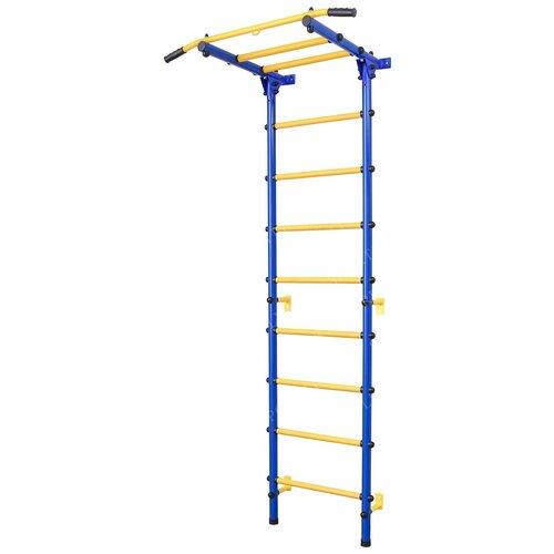 Купить Шведская стенка SportLim DS-12A, синий, Игровые и спортивные комплексы и горки