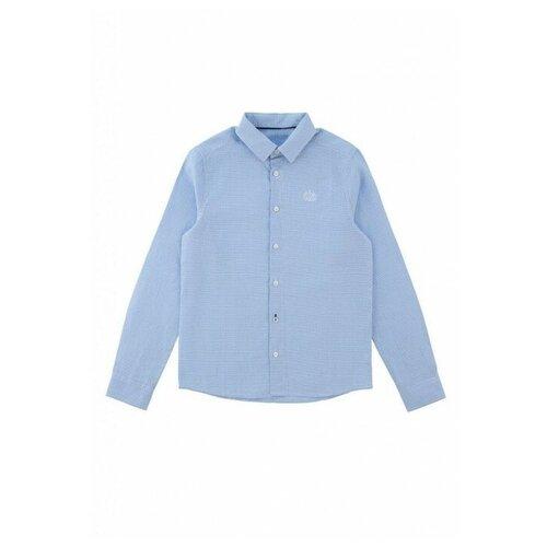 Рубашка INFUNT размер 146, голубой