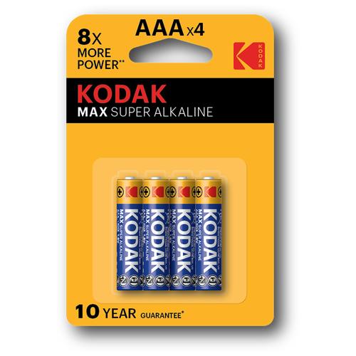 Фото - Элемент питания KODAK MAX LR03 BL4 (K3A-4) 4 шт элемент питания navigator 94 750 nbt ne lr03 bp2