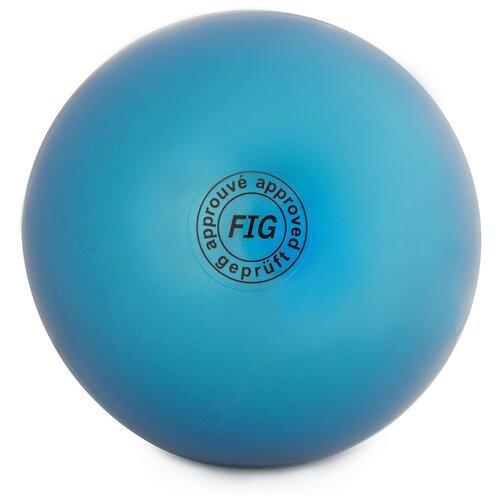 Фото - Мяч для художественной гимнастики Larsen AB2803 синий палочка с лентой для художественной гимнастики larsen ab220 синий