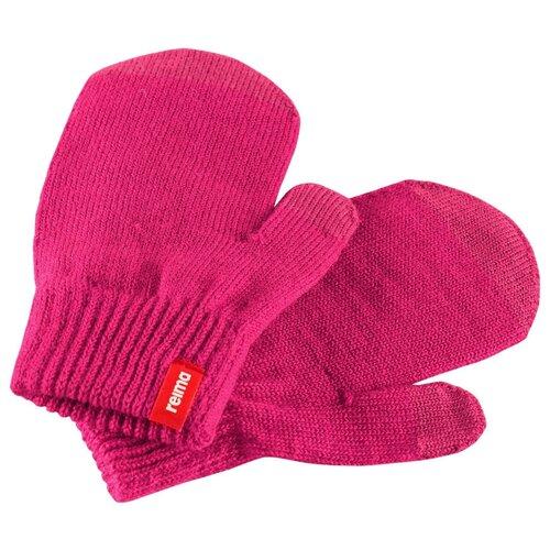 Варежки Reima Renn 527305 размер 3, розовый/бордовый