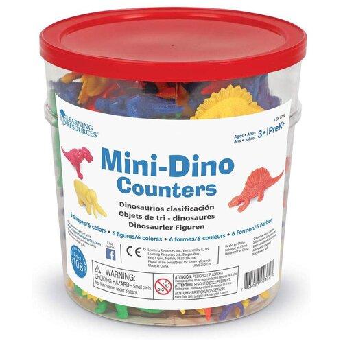 Купить Счетный материал Learning Resources Динозавры LER0710 микс, Обучающие материалы и авторские методики