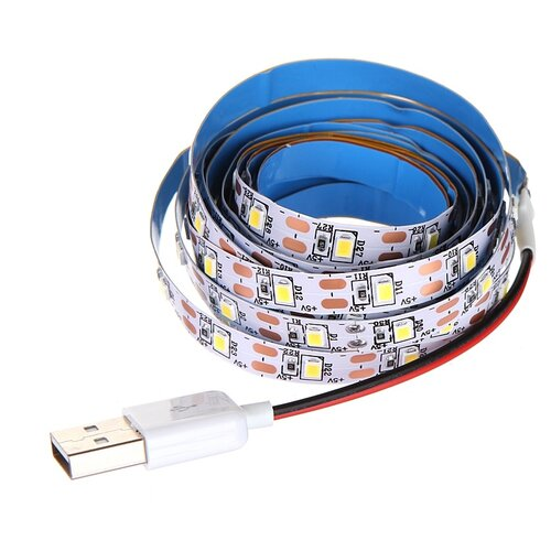 Светодиодная лента URM 2535 60LED 5V 3.6W 10-12Lm IP22 3000K