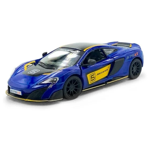 Купить Гоночная машина Serinity Toys McLaren 675LT (5392DFKT) 1:34, 12.5 см, синий, Машинки и техника
