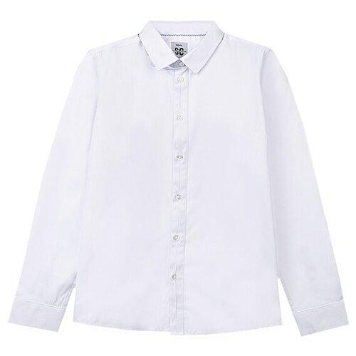 Рубашка playToday размер 134, белый
