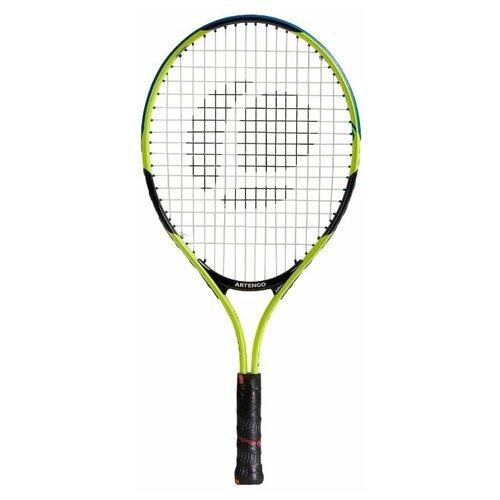 Ракетка для игры в большой теннис детская TR130 размер 21 желтый ARTENGO X Декатлон